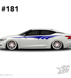 car graphic 181 decals stripe graphics stanced