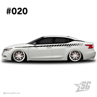 car graphic 20 decal stripe graphics tuner