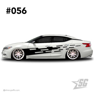 car graphic 56 decal stripe graphics turbo