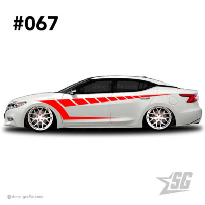 car graphic 67 decals stripe graphics dub life