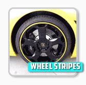 Vehicle Wheel stripes