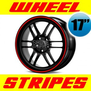 "Wheel stripes for 17"" wheels"