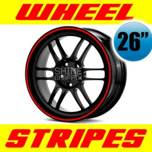 wheel stripe 26