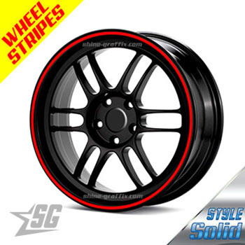 Lamborghini Wheel Stripes Shine Graffix Com