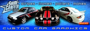 vehicle car graphics banner