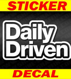 Daily Drive decal 2