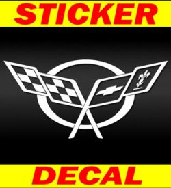 Corvette C5 Logo Decal