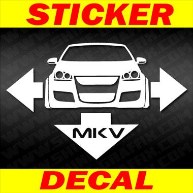 MK5 decal