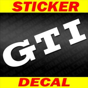 GTI decal