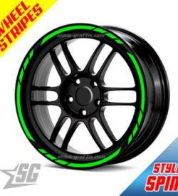 Wheel rim stripes - spin style universal