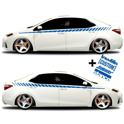 car vinyl graphics 20 blue