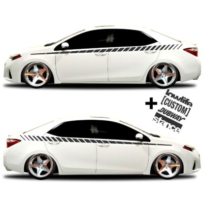 car vinyl graphics 20 Matte black