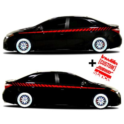 car vinyl graphics 20 red