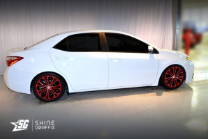 Toyota Corolla S 2014 2016 17 Quot Wheels Decal Shine