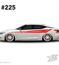 car graphic 225 decal stripe graphics fresh