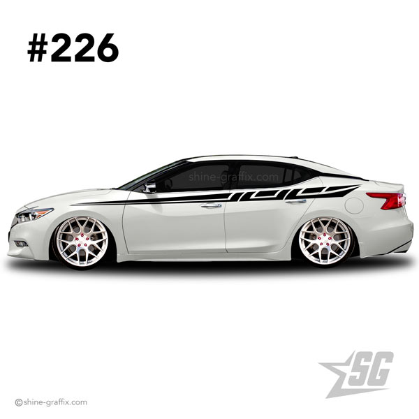 car graphic 226 decals stripe graphics daily driven