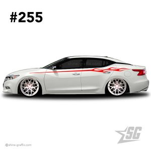 car graphic 255 decals stripe graphics static