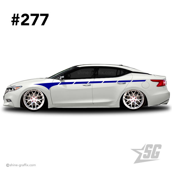car graphic 277 decals stripe graphics hellaflush