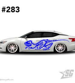 car graphic 281 decals stripe graphics dinosaur