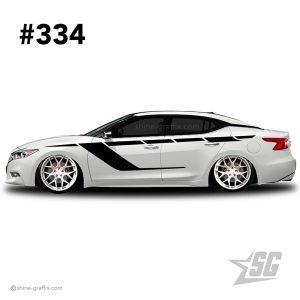 car graphic 334 decals stripe graphics maxima bags