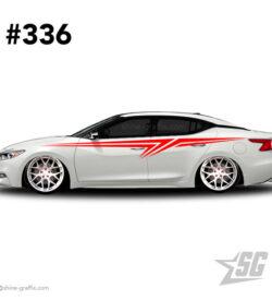 car graphic 336 decals stripe graphics import