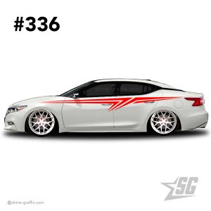 car graphic 336 decals stripe graphics import