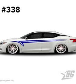 car graphic 338 decals stripe graphics fitment