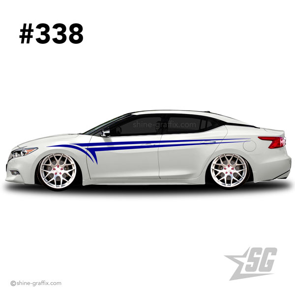 car graphic 338 decals stripe graphics fitment