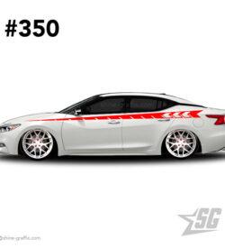 car graphic 350 decals stripe graphics stance dub