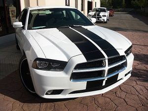 charger racing stripes