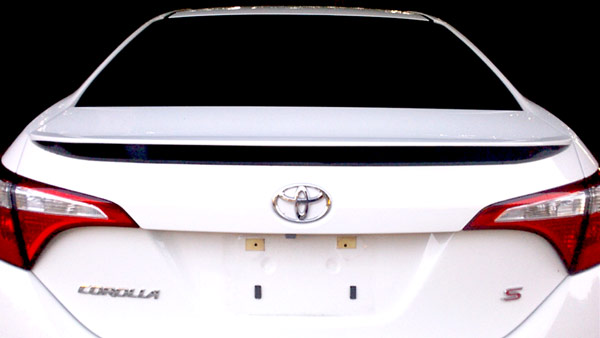 Rear wing Toyota Corolla Decal