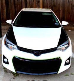 Toyota Corolla hood stripes
