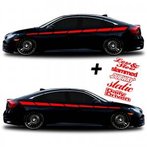 car vinyl graphics 126 red
