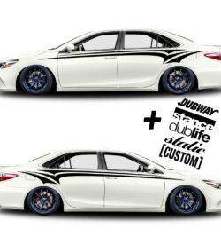 car vinyl graphics 333 black