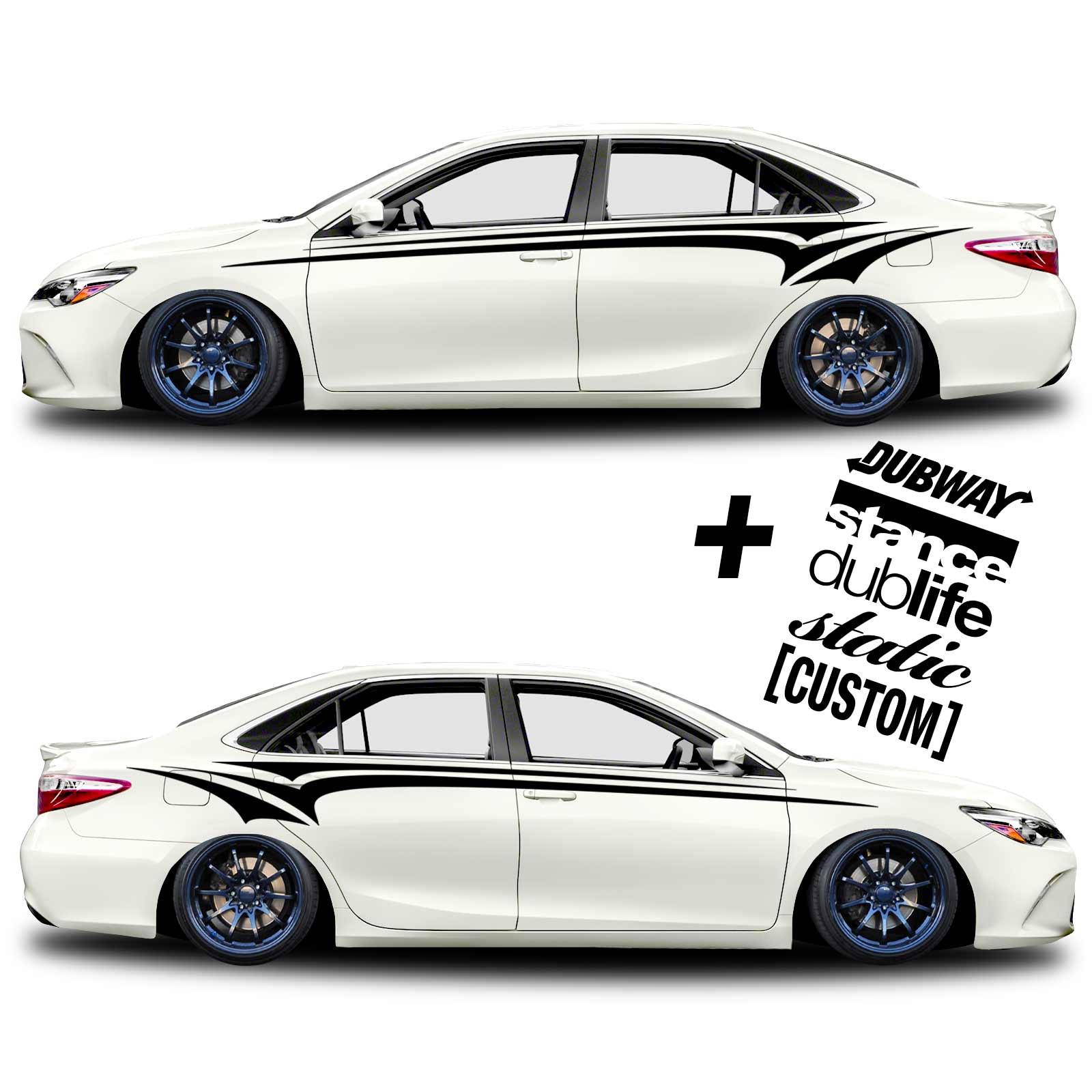 Car Graphic Race Stripe Free Decals Shinegraffixcom - Custom vinyl graphics for cars