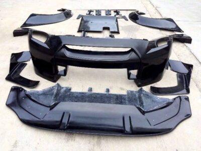 GTR Wide Full body kit R35 pieces