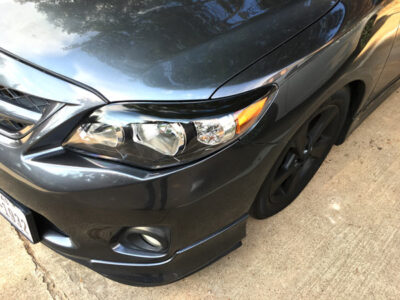10th gen corolla eyelids 2011 - 2013