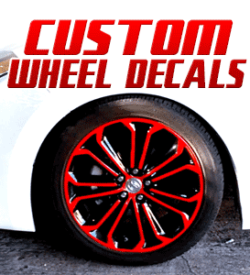 Custom Wheel Decals