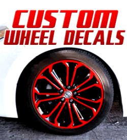 Custom Wheel Decals