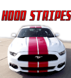 Hood - Racing Stripes