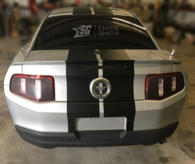 Mustang Racing Stripes 10in wide rear