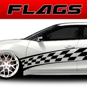 car graphics flags decals
