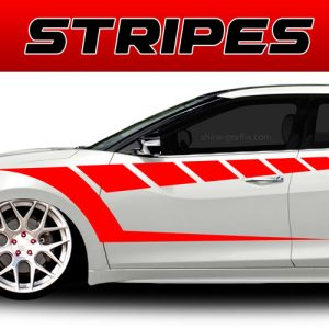 car graphics stripes vinyl decals