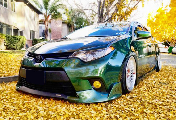 Body Kit Rs Type Toyota Corolla L Le 2014 2016 Shine