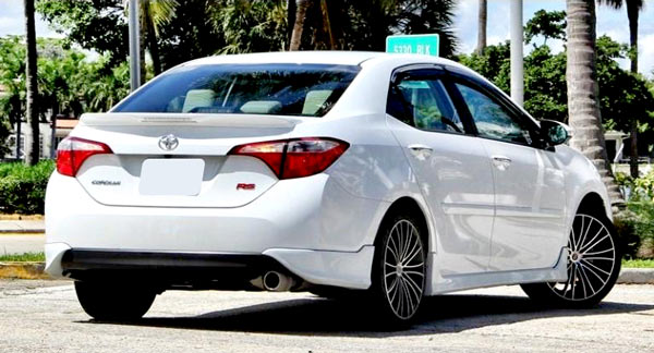 Body Kit Rs Type Toyota Corolla S 2014 2016 Shine