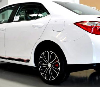 Toyota Corolla Xsp Side Graphics Spoiler Decal Shine