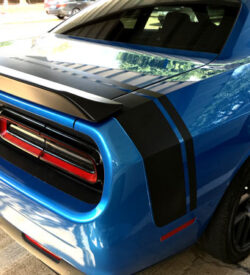 Dodge Challenger 2008-2016 Scat Pack Style Rear Stripes Decals