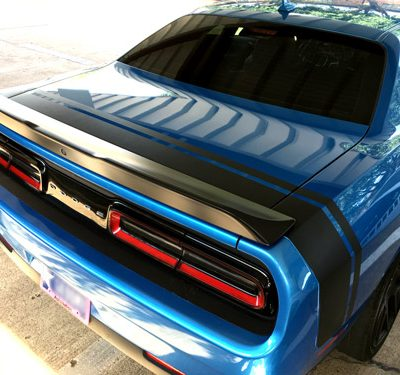 Dodge Challenger 2008 2016 Scat Pack Style Rear Stripes