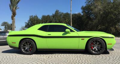 Dodge Challenger Mid Body Side Stripes graphics #404