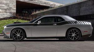 Dodge Challenger Dual stripes graphics #402